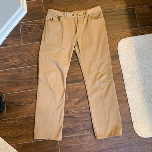 Polo casual Khaki pants